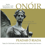 """Onóir"" – Coirm/Concert  NCH 30/10/2016"